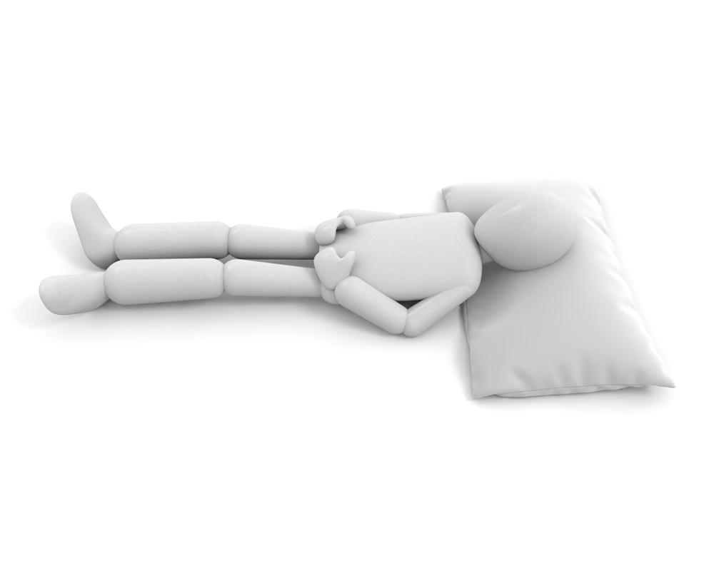 睡眠中起こさないで|寝ているから電話しないで|フリーイラスト素材|商用OK - 人物イラスト|無料素材
